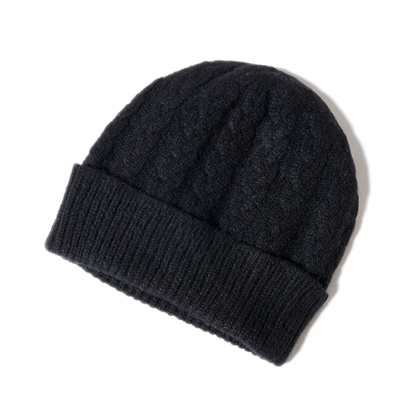 Golden State  WILLIAM LOCKIE William Rocky cashmere cable knit hat ... 0124bc2d2f5