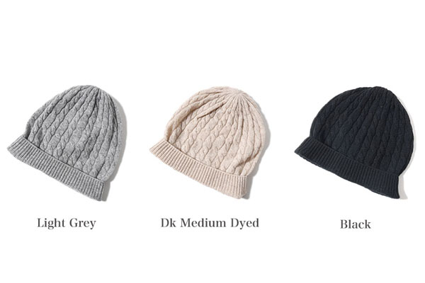 adc36b75f It includes Johnstons Johnston cashmere cable knitting knit cap HAA01479  knit hat hat watch cap knitting (Lady's)