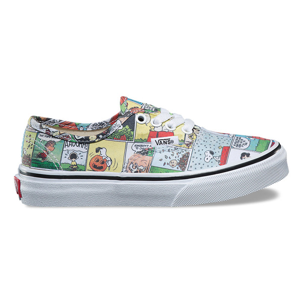 VANS X PEANUTS vans peanut authentic Authentic collaboration Snoopy Charlie brown Woodstock sneakers shoes VN0A38E7QQ2 (baby)